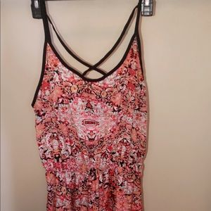 Other - Romper with criss cross straps over chest